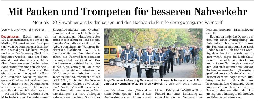 Hannover Allgemeine Zeitung 22.10.2018