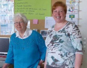 Marlies Havekost und Christine Malig, Seniorenbeauftragte für Wehnsen bzw. Plockhorst