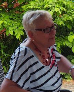 Heidrun Böhm, Ortsvorsitzende des SOVD Plockhorst